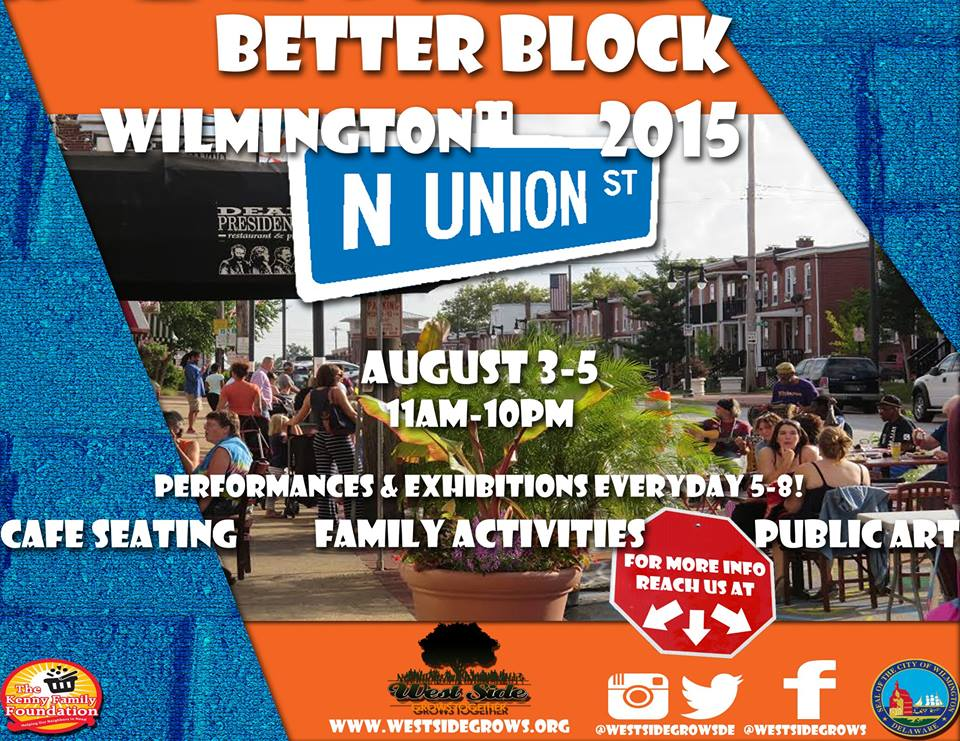 Better Block Wilmington 2015
